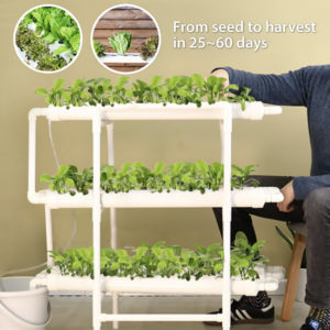Vertical Hydroponics PVC Pipe Kit