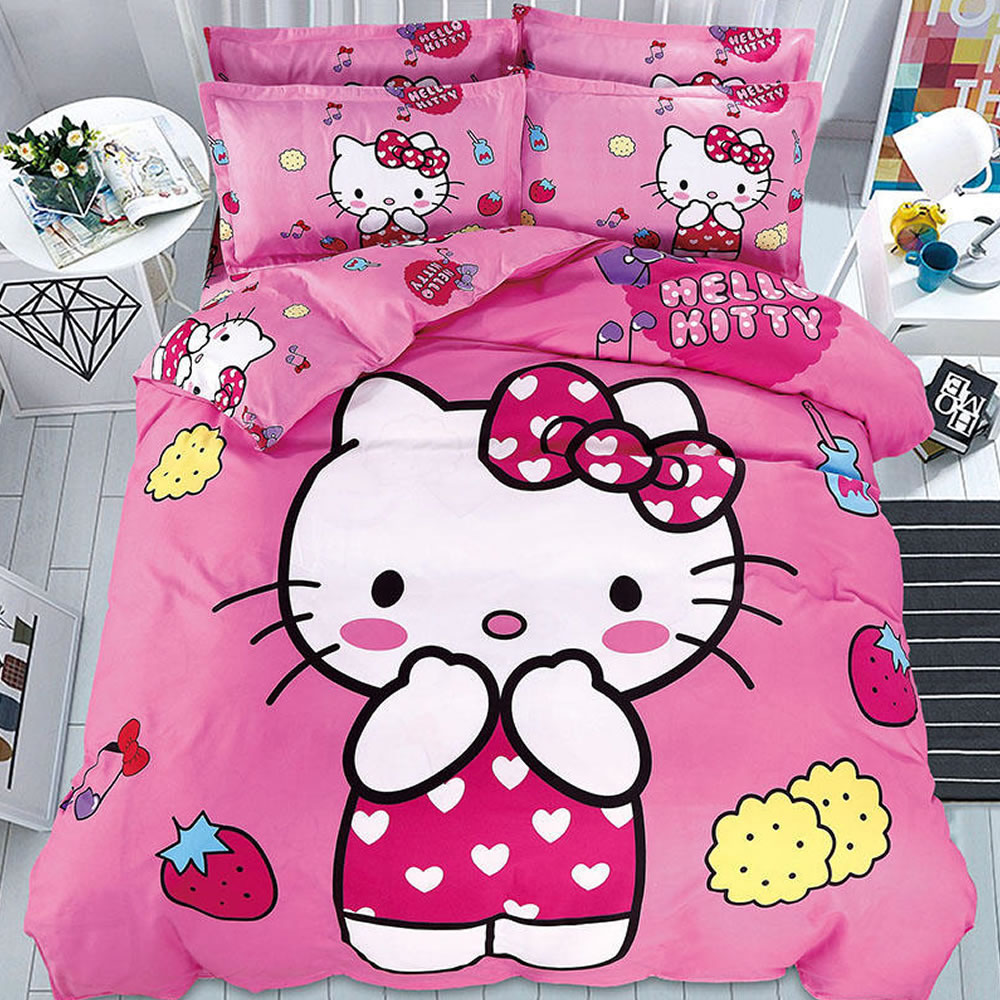 buy hello kitty bed linen online