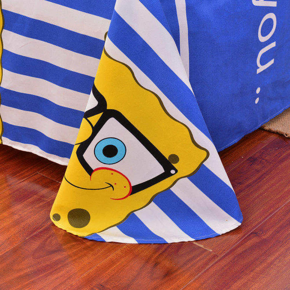 sponge bob bedding set twin