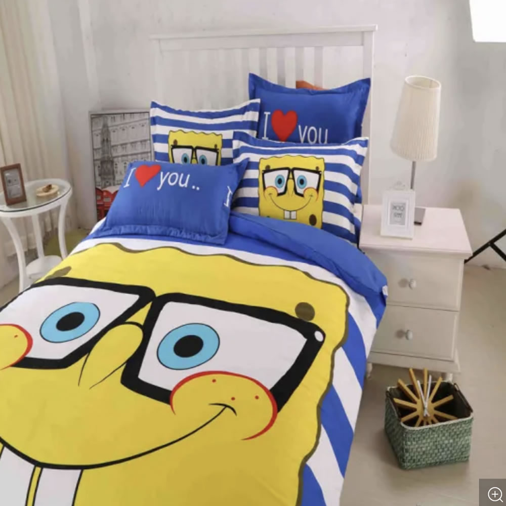 where to buy sponge bob sheets and comforter