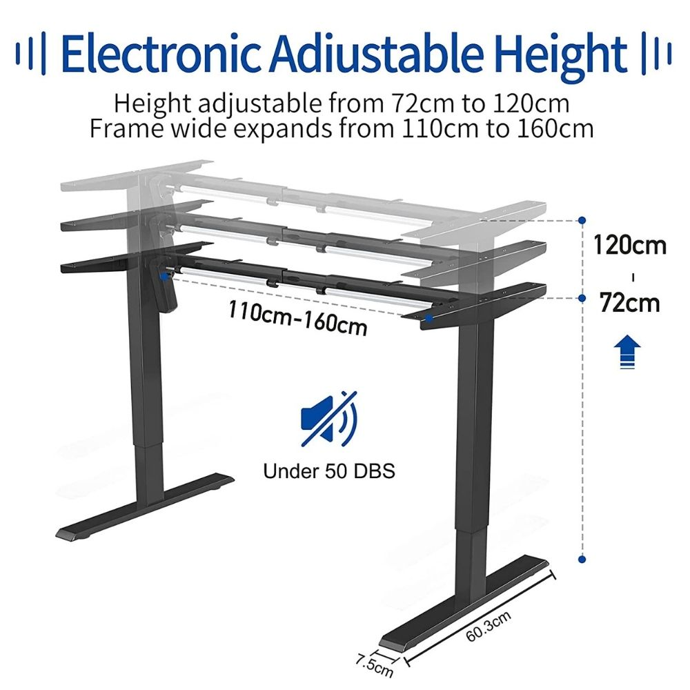 adjustable electric standing desk