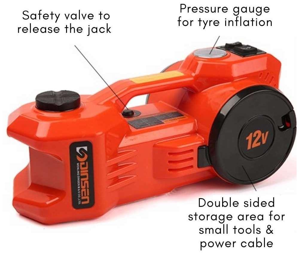 electric hydraulic jack for car